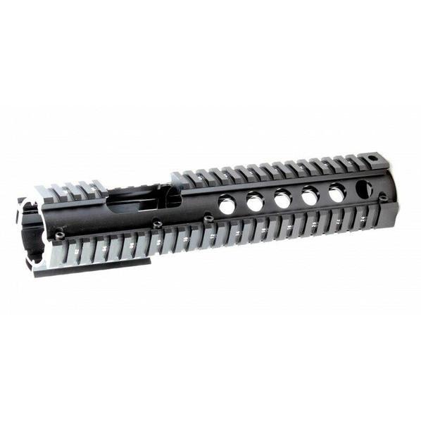 Raptors Airsoft RTQ Aluminum 10.5 Two Piece RIS Quad Rail Hand Guard Unit For M4 AEGs