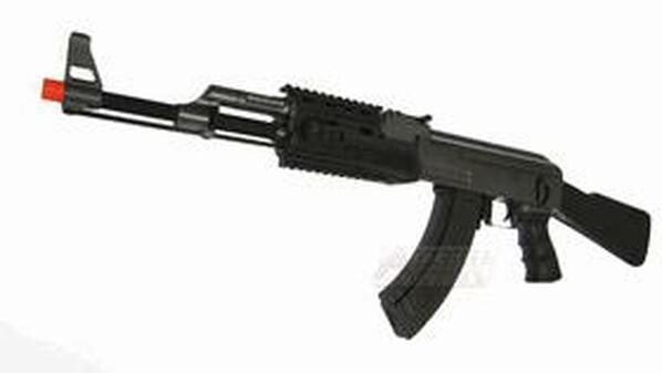 CYMA CM028A AK-47 RIS AEG Airsoft Rifle FULL METAL - REFURBISHED