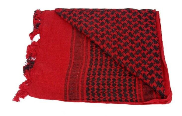 Shemagh, Red/Black