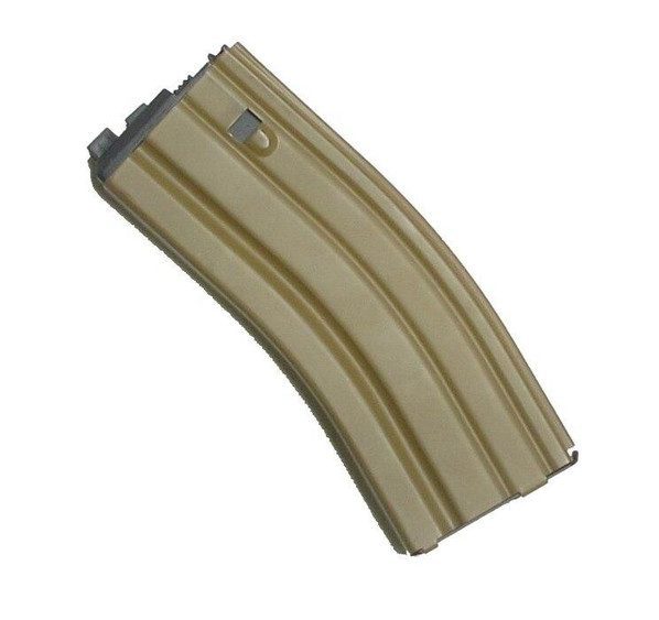 WE SCAR-L GBB Magazine, Open Bolt, 32 Rounds, Dark Earth