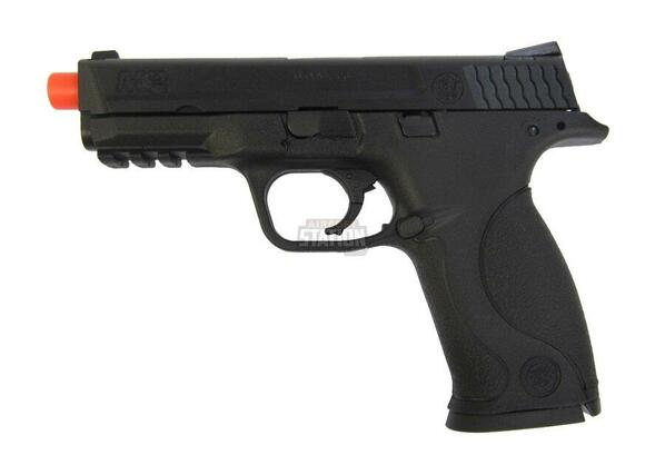 Smith and Wesson MandP 9 Full Size Full/Semi Auto Gas Blowback Airsoft Pistol by VFC