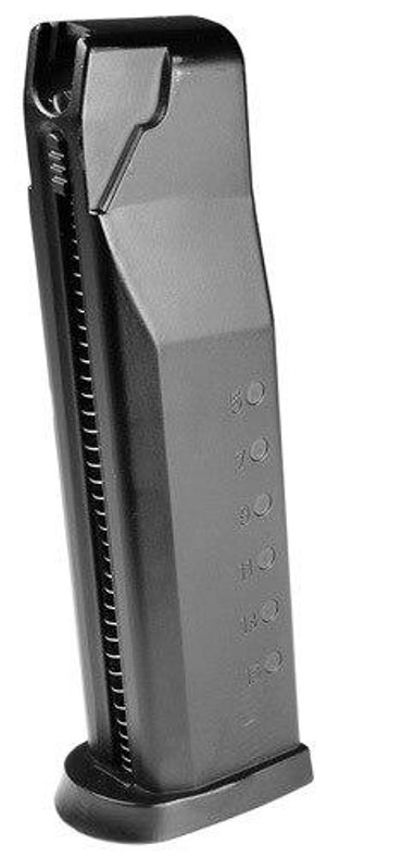 Smith and Wesson Metal Magazine for Airsoft MandP CO2 Pistol, 15rd