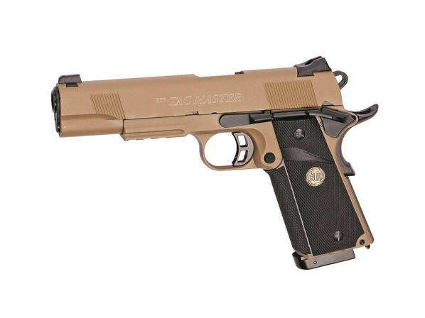 STI Tac Master Full Metal CO2 Blowback Airsoft Pistol Desert Tan