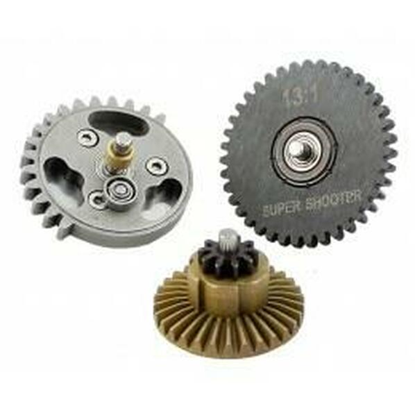 Super Shooter SHS 131 Airsoft Gear Set Taiwan AEG Speed Gears
