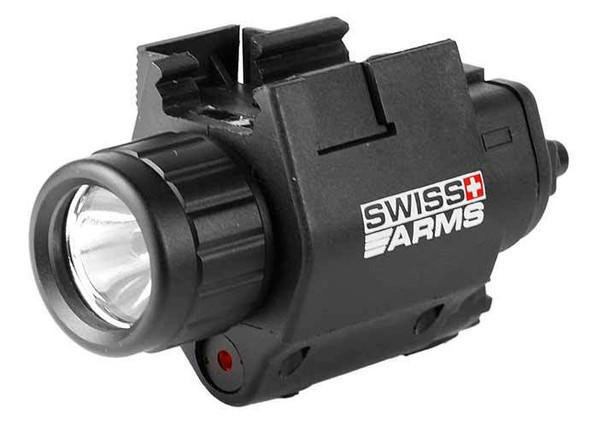 Swiss Arms Flashlight/Laser Set, Black, Box