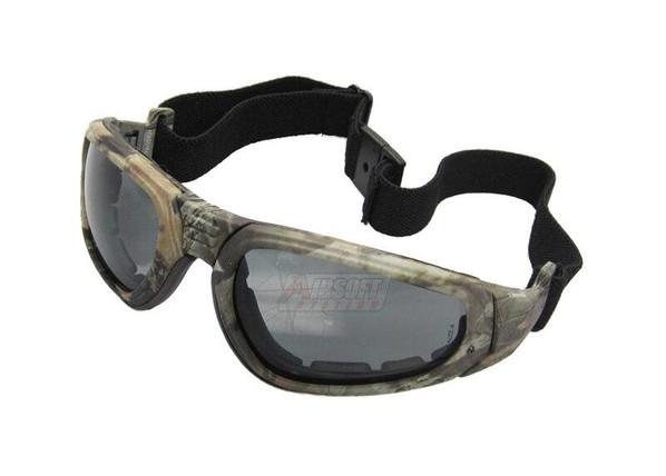 Tactical Crusader Sport Goggles, Camo
