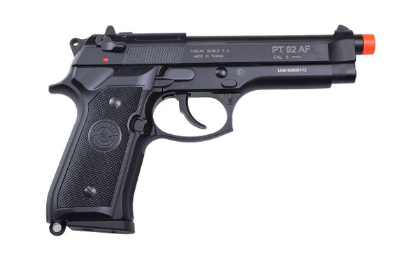 Taurus PT 92 Full Metal Gas Blowback Pistol by KJW