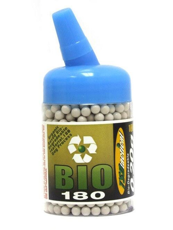 TSD Competition Grade 6mm biodegradable airsoft BBs, 0.20g, 1000 rds, white