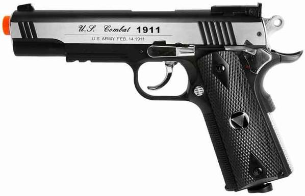 TSD Tactical-601 Metal Slide Two Tone CO2 Blowback M1911