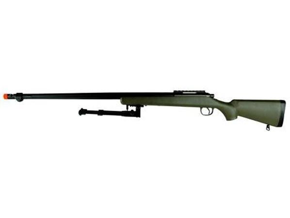 TSD Tactical SD702 Bolt Action Sniper Rifle w/Bipod - OD Green