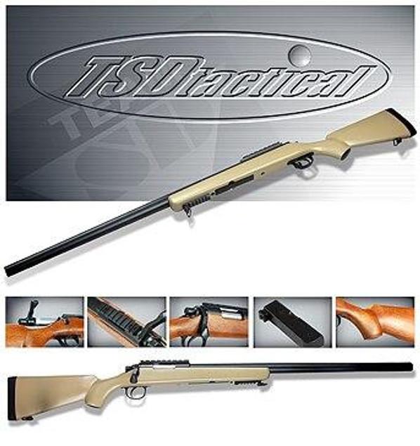 TSD Tactical Series SD700 Airsoft Sniper Rifle - Tan