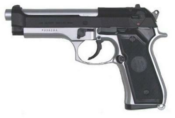 TSD Sports Model 958 Two Tone M9 Style Airsoft Spring Pistol