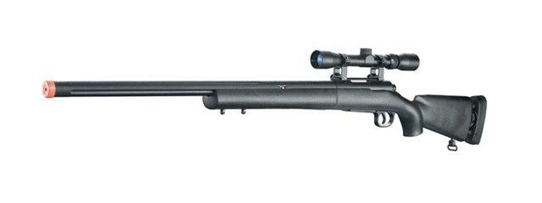 UK ARMS M28 Accushot Competition Bolt Action Sniper Rifle with Scope