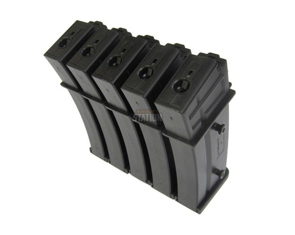 5-pk HandK 110 round G36/MK36 Mid-Cap Magazines
