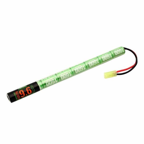 Valken Energy NiMH 9.6v 1600 mAh Stick Battery