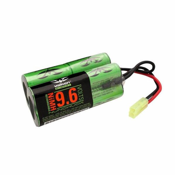 Valken Energy NiMH 9.6v 2000 mAh Butterfly Battery