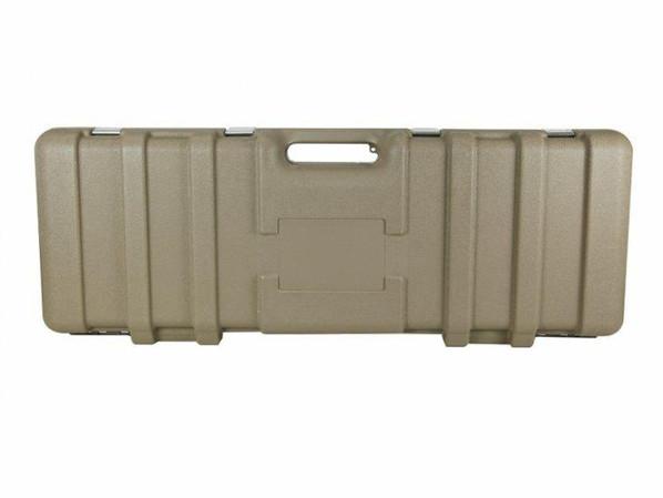 Vega Force Company Stackable Foam Interior Hard Case - Tan