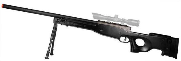 Bravo MK98 Well L96 Bolt Action Sniper Rifle w/ Bipod