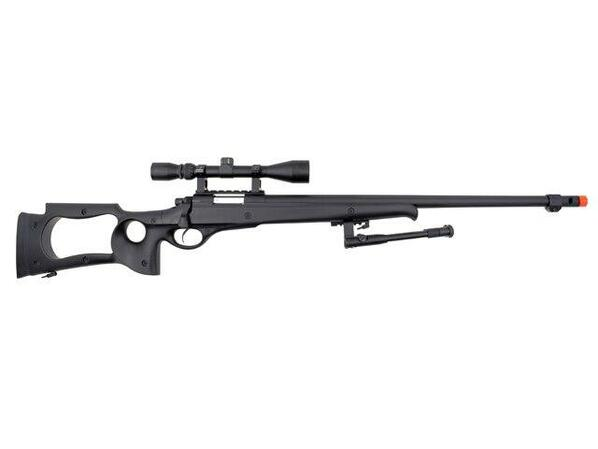 Well MB10 Heavy Weight Airsoft Sniper Rifle with Scope and Bipod