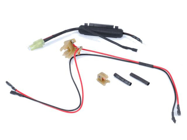 Wiring for Front Wired TM Compatible M4 AEG mini Tamiya plug