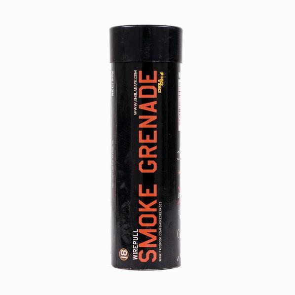 Enola Gaye Wire Pull Standard Duration Cool Burning Orange Smoke Grenade