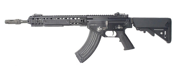 Knights Armament Co Licensed BOLT KAC Recoil Shock System Blowback SR47 URX3.1 Full Metal Airsoft Rifle