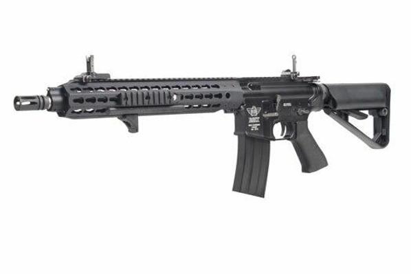 BOLT Recoil Shock System Blowback B4 KEYMOD Full Metal Black Airsoft Rifle