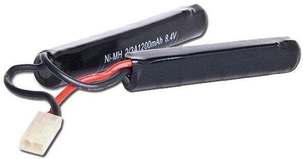 8.4v 1200 mAh Mini Nunchuck Type AEG Battery