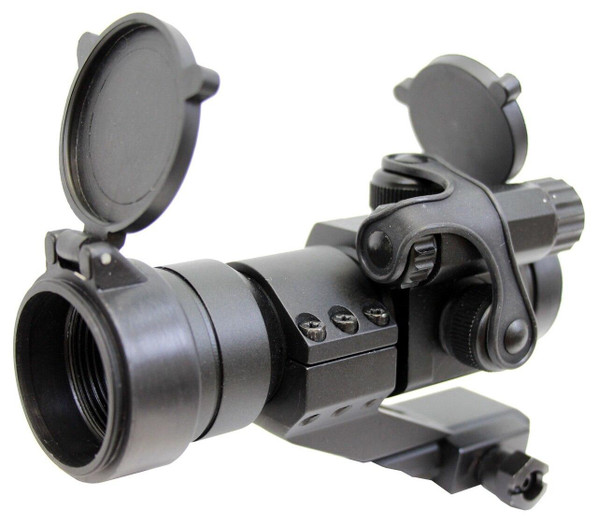 AMP Tactical Military Red/Green Dot Sight w/ Cantilever Mount
