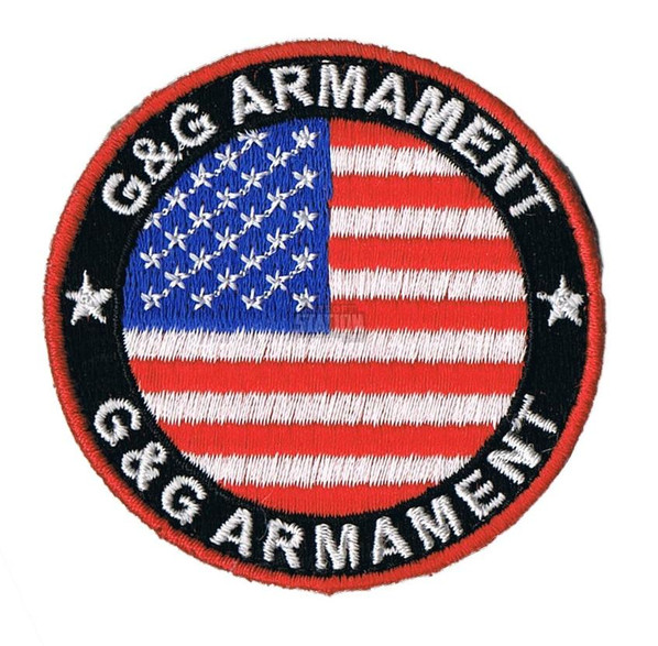 GandG Armament Official Velcro Patch, USA Flag