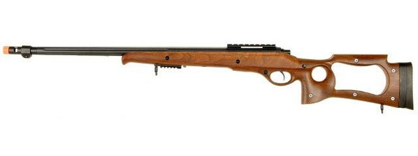 M70 SPR A4 Bolt Action Airsoft Sniper Rifle, Wood Stock, 500 FPS - REFURBISHED