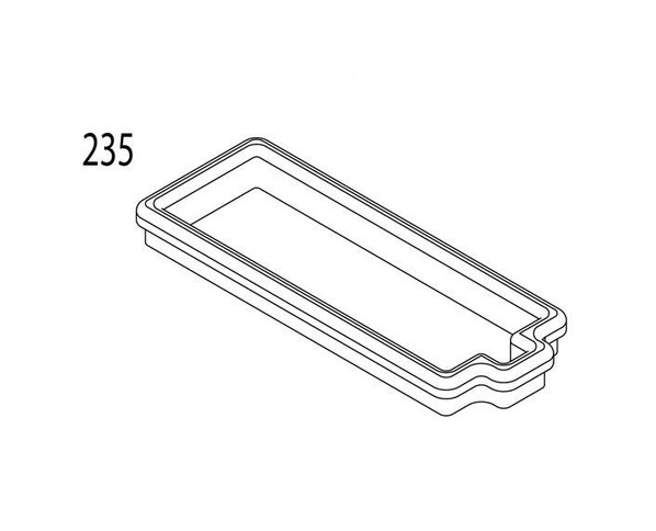 Magazine RELEASE VALVE BLOCK SEAL for KWA LM4 PTR