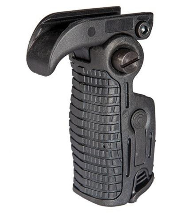 AK-Style Foldable and Extendable Tactical Foregrip, Black