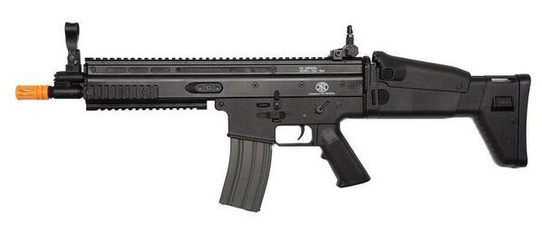 Classic Army FN Herstal Licensed SCAR-L Sportline Black Airsoft Rifle - REFURBISHED