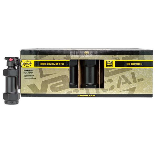 Valken Thunder V Grenade Starter Kit, 12 Pack w/ Core, Dumbell Style