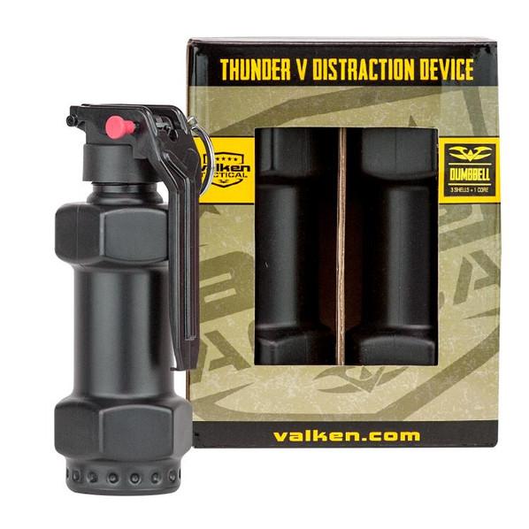 Valken Thunder V Grenade 3-Pack Kit w/ Core, Dumbell Style