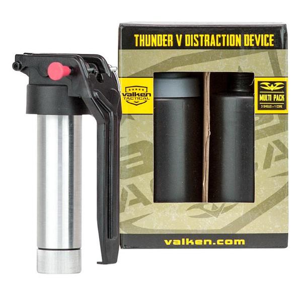 Valken Thunder V Grenade 3-Pack Kit w/ Core, Variety Shells