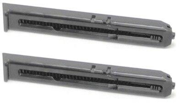 15 Round Magazines for Crosman C11 Airsoft Pistols, 2 Pack