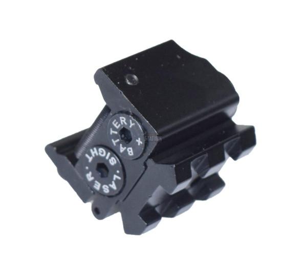 Compact Pistol Laser Sight, Full Metal, Adjustable