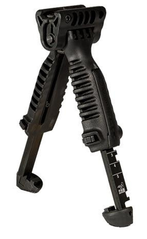 Vertical Airsoft Pressure Switch Compatible Bipod/Foregrip, Black