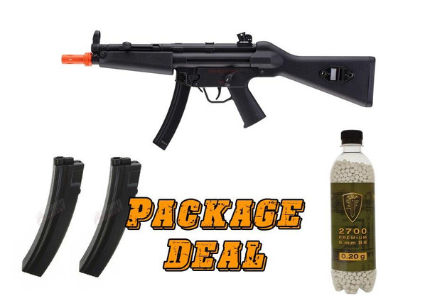 HandK MP5 A4 Competition Series Airsoft SMG Combo Package