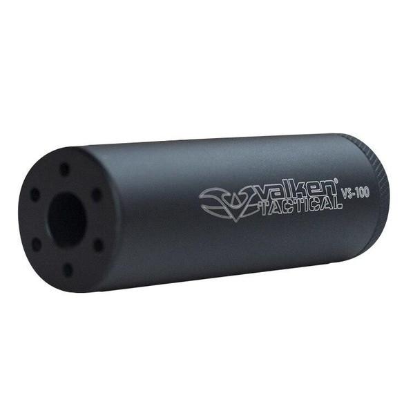 Valken Tactical Mock Flash Suppressor 14mm CCW, LH - Black