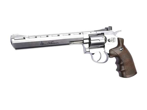 Dan Wesson 8 CO2 Airsoft Revolver, Chrome