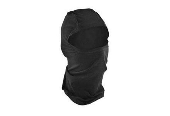Zan Headgear Tactical Balaclava Bamboo Cotton Black Airsoft
