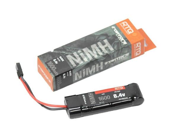 Raptors Airsoft RTQ NiMH 1600mah 8.4v Block Battery