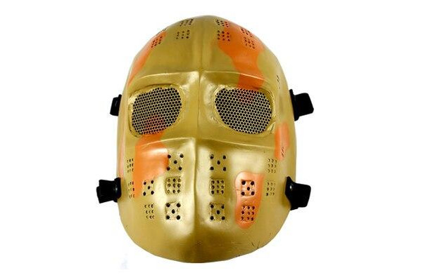 Desert Camo Army Of Two Airsoft Mask Full Face Cover Hard