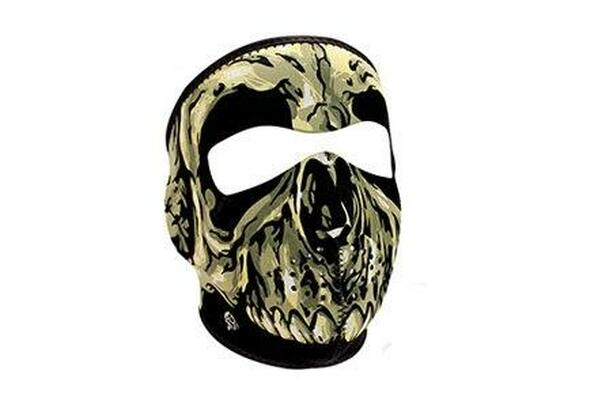 Zan Headgear Tactical Full Mask Neoprene Skull Airsoft