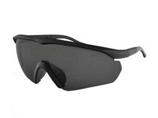 Bobster Tactical Eyewear Delta Ballistics Shooting Glasses Z87 Black Frame 2 Lens
