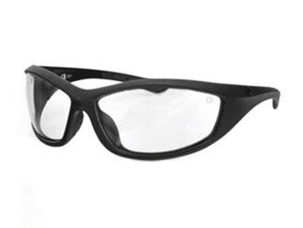Bobster Tactical Eyewear Zulu Ballistics Eyewear Matte Frame Anti-fog Clear