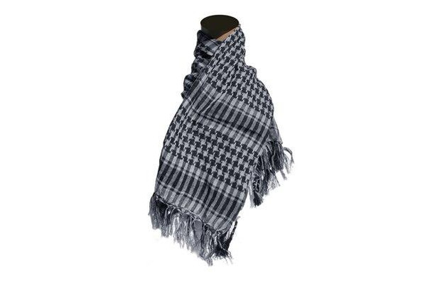 Raptors Airsoft Special Forces Head Wrap Scarf Grey Checkered Airsoft/Paintball/Military